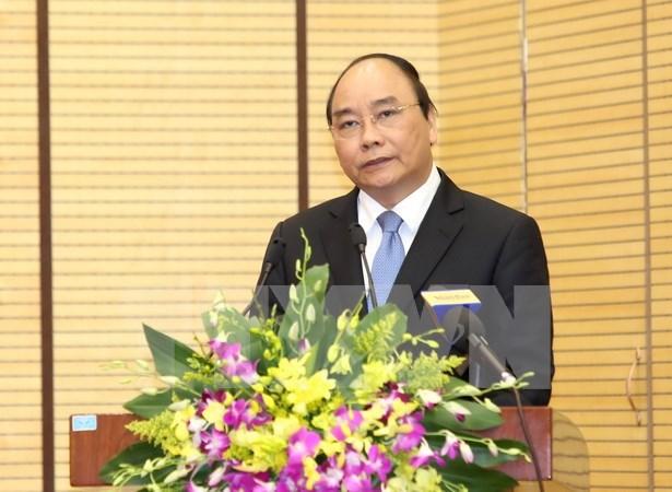 Viceprimer ministro vietnamita supervisa proceso electoral del Parlamento hinh anh 1