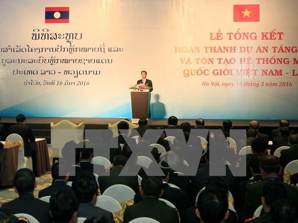 Vietnam y Laos robustecen relaciones de cooperacion hinh anh 1