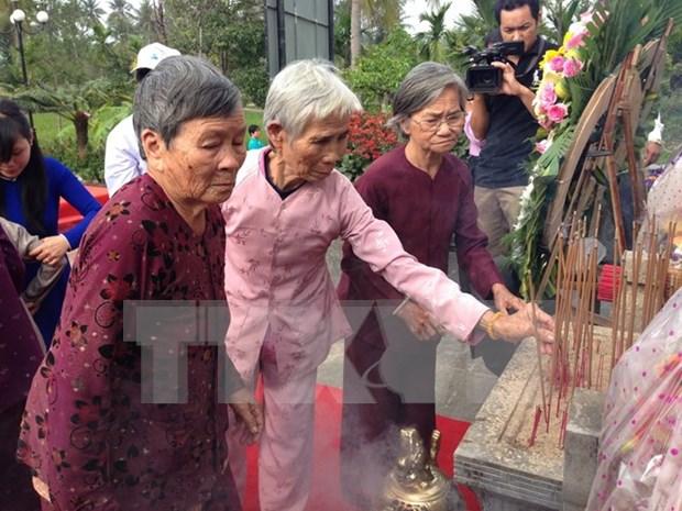 Vietnam recuerda a victimas de la matanza de Son My hinh anh 1