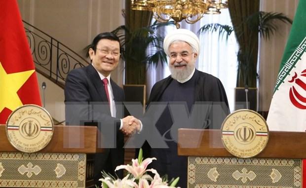 Nuevo impulso para las relaciones entre Vietnam y Tanzania, Mozambique, Iran hinh anh 1
