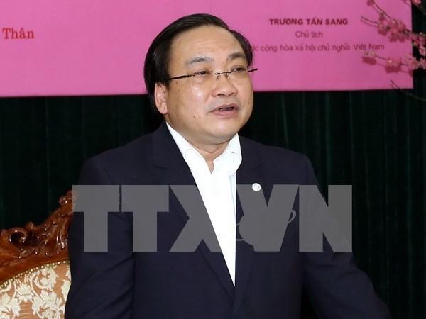 Hanoi promueve actividades emprendedoras entre los jovenes hinh anh 1