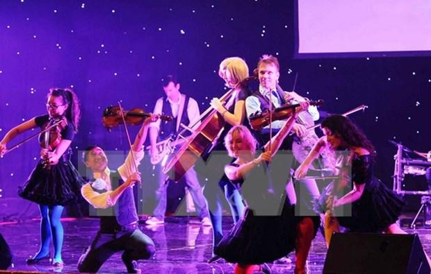Armonizaran en concierto artistas vietnamitas y cuarteto Bond hinh anh 1