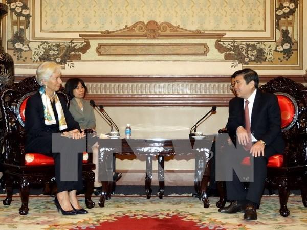 Directora del FMI elogia logros de Vietnam en desarrollo sostenible hinh anh 1
