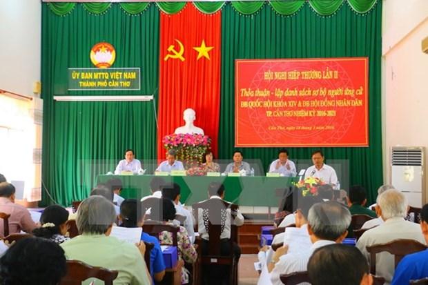 Mas de mil personas en lista de candidatos al Parlamento y Consejos Populares hinh anh 1