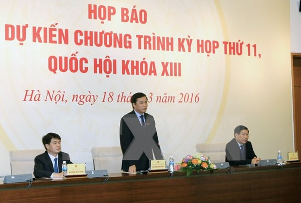 Centrara XI periodo de sesiones de Parlamento en asuntos del personal estatal hinh anh 1