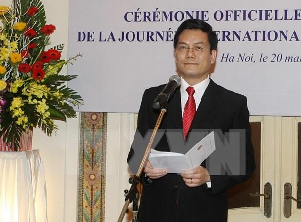 Prioriza Vietnam fomento de nexos con Comunidad Internacional Francofona hinh anh 1