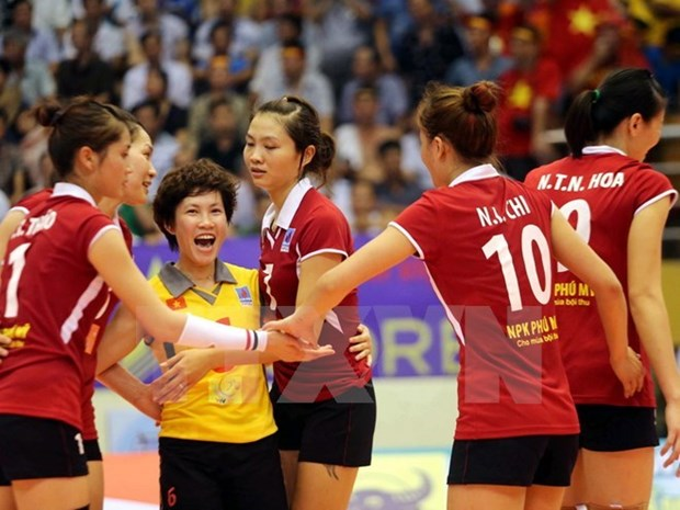 Abierto torneo internacional de voleibol femenino VTV – Binh Dien hinh anh 1