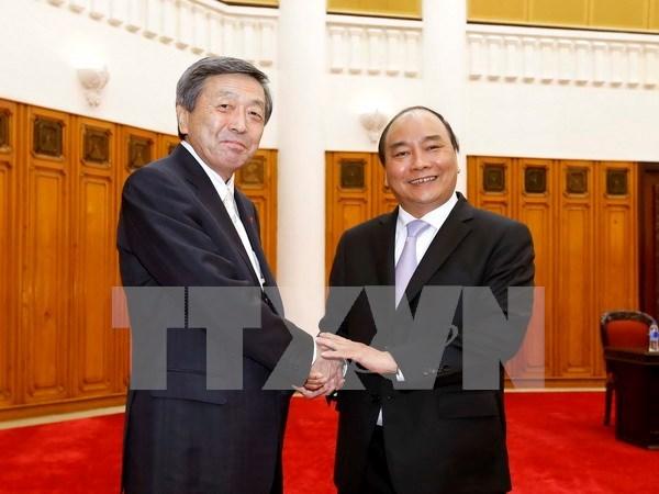 Buscan Vietnam y Japon medidas de estrechar colaboracion comercial hinh anh 1