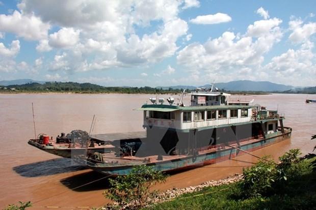 Sube nivel del agua en rio Mekong en Laos hinh anh 1
