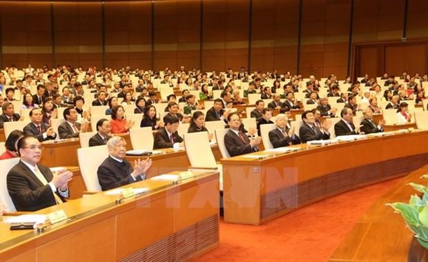 XI periodo de sesiones parlamentarias: Crecimiento economico alcanza record hinh anh 1