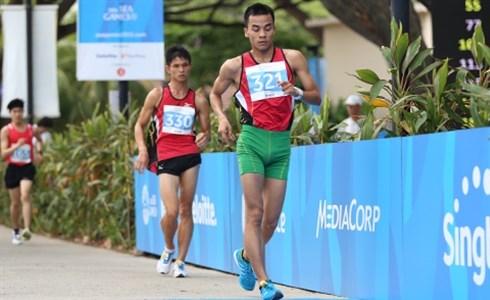 Atleta vietnamita clasificado para los Juegos Olimpicos Rio 2016 hinh anh 1