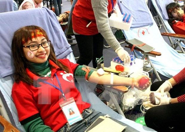Estimula en Vietnam donacion voluntaria de sangre hinh anh 1