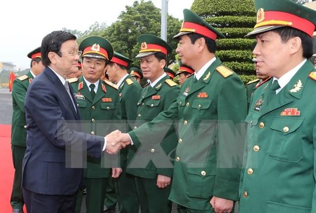 Presidente vietnamita efectua visita de trabajo en provincia nortena hinh anh 1