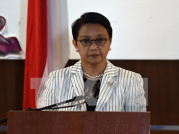 Indonesia protesta contra violacion de soberania de policia maritima china hinh anh 1
