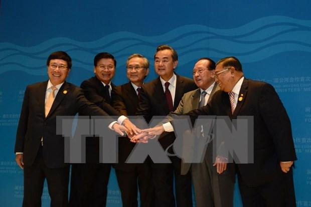 Cooperacion Lancang- Mekong: mecanismo eficiente para nexos ASEAN- China hinh anh 1