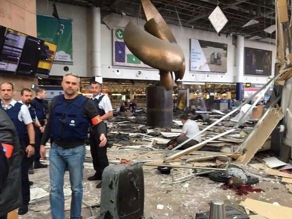 Abren lineas directas para atender a vietnamitas tras atentados en Bruselas hinh anh 1