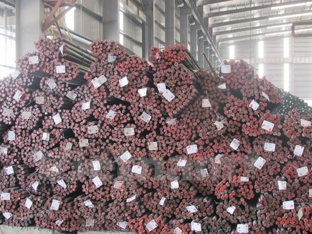 Vietnam aplica aranceles temporales contra aceros importados hinh anh 1