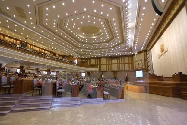 Parlamento de Myanmar aprueba lista de nuevo gabinete hinh anh 1