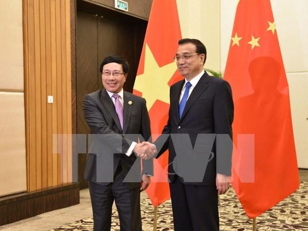 Vietnam y China por cumplir los acuerdos y conciencias comunes hinh anh 1