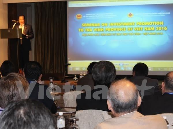 Tra Vinh invita a inversores singapurenses a participar en sus proyectos hinh anh 1
