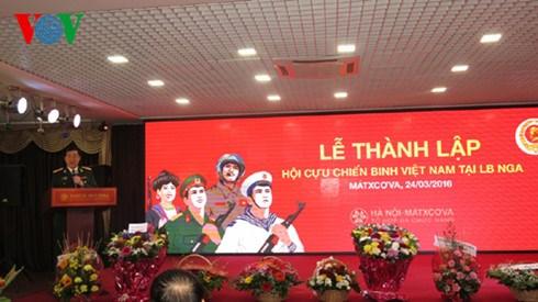 Fundada Asociacion de veteranos vietnamitas en Rusia hinh anh 1