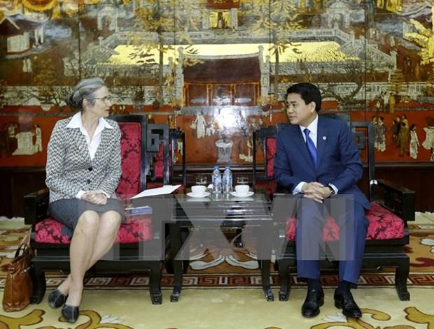 Amsterdam desea promover lazos con Hanoi en gestion de recursos hidricos hinh anh 1