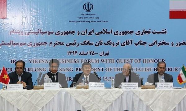 Vietnam e Iran ante nuevas oportunidades de cooperacion economica hinh anh 1