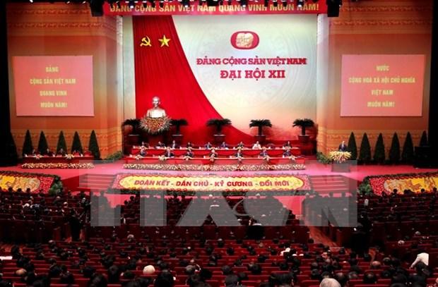 Estudio e implementacion de resolucion del XII Congreso, tarea clave del 2016 hinh anh 1