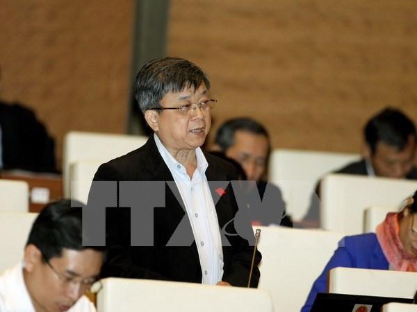 Parlamento vietnamita revisa borrador de la ley de acceso a informaciones hinh anh 1