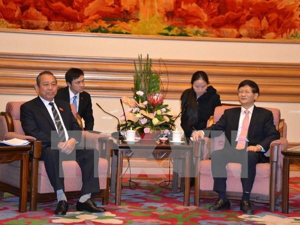 Vietnam y China fomentan lazos judiciales hinh anh 1