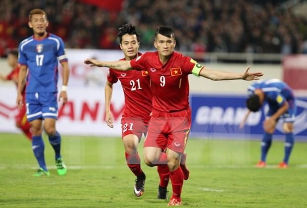 Seleccion vietnamita de futbol gana en el debut de su nuevo entrenador hinh anh 1