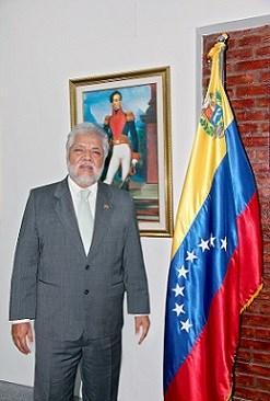 Embajador venezolano aboga por el desarrollo de relaciones con Vietnam hinh anh 1