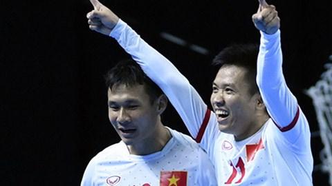 Seleccion vietnamita se prepara para Copa Mundial de Futbol Sala hinh anh 1