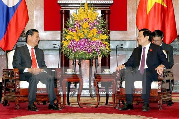 Vietnam y Laos continuan mecanismo de coordinacion, dijo vicepremier laosiano hinh anh 1
