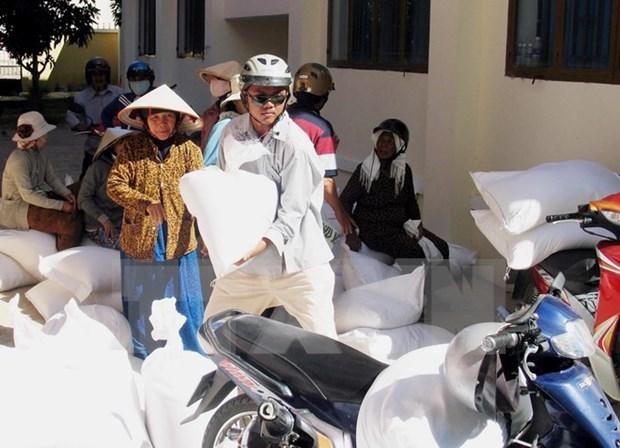 Ayuda financiera para personas necesitadas y localidades afectadas por desastres hinh anh 1