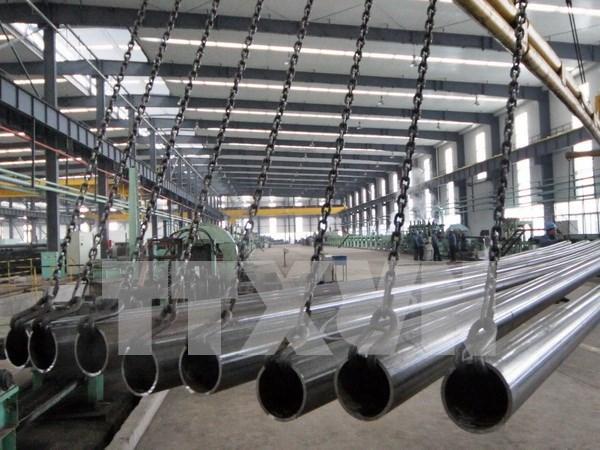 Empresas vietnamitas no realizan venta antidumping de acero al mercado turco hinh anh 1
