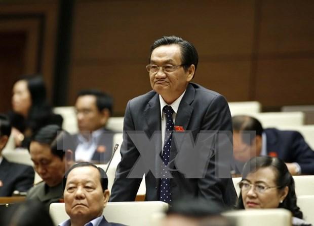 Parlamento vietnamita escruta labores del presidente y primer ministro del pais hinh anh 1