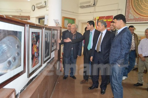 Exposiciones de fotos presentan pais y pueblo vietnamitas a los egipcios hinh anh 1