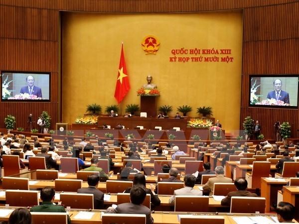 Parlamento vietnamita aprueba la liberacion de cargo a su presidente hinh anh 1
