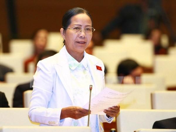 Diputados complacidos con desempenos del presidente y primer ministro hinh anh 1