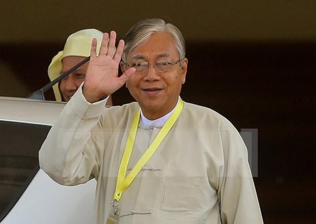 Nuevo presidente de Myanmar compromete por la paz y reconciliacion hinh anh 1