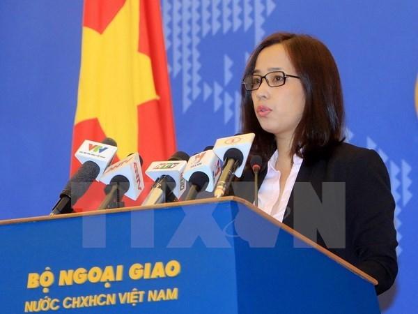 Vietnam felicita a nuevo gobierno de Myanmar, dice vocera adjunta hinh anh 1