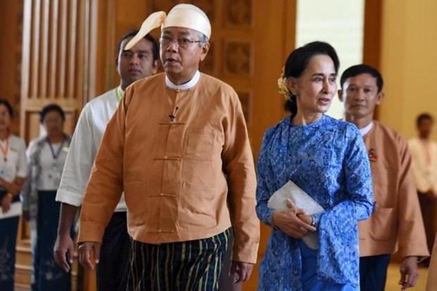Myanmar nombra 29 ministros para asuntos etnicos hinh anh 1