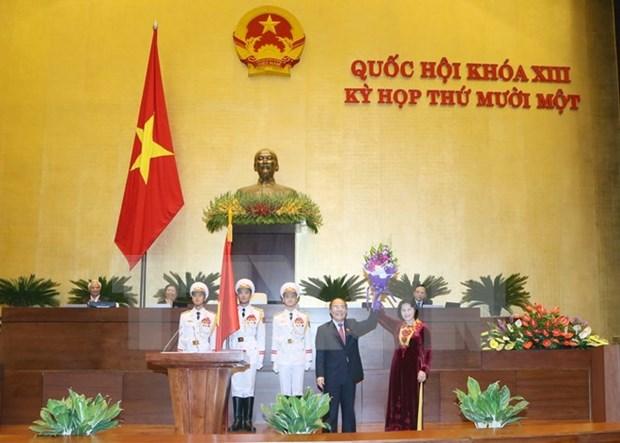 Asamblea Nacional de Vietnam tiene primera presidenta en su historia hinh anh 1