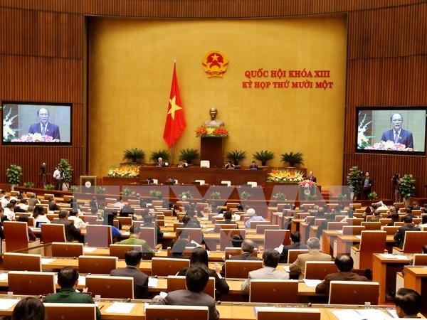 Parlamento vietnamita elegira hoy al presidente del Consejo Electoral Nacional hinh anh 1