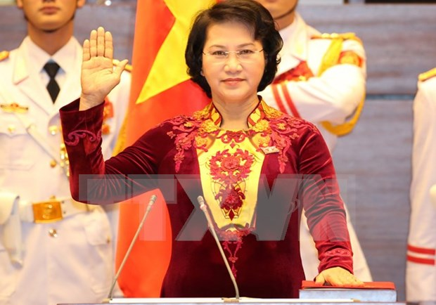 Electorado vietnamita confia en la direccion de la nueva presidenta parlamentaria hinh anh 1