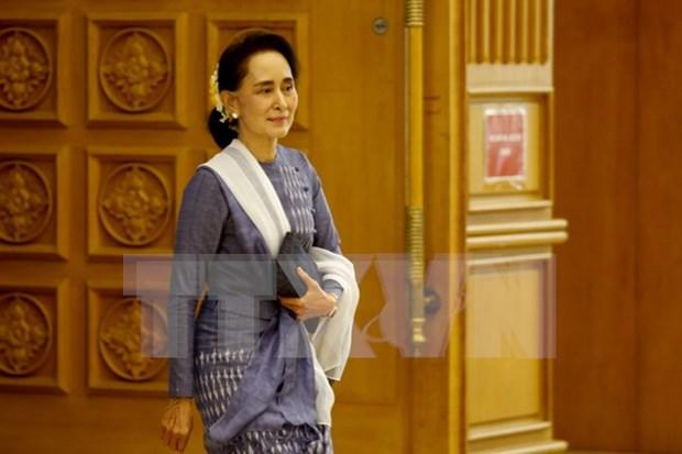 Partido gobernante en Myanmar propone nuevo cargo para Aung San Suu Kyi hinh anh 1