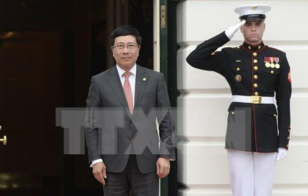 Vietnam participa en cumbre sobre seguridad nuclear en Washington hinh anh 1