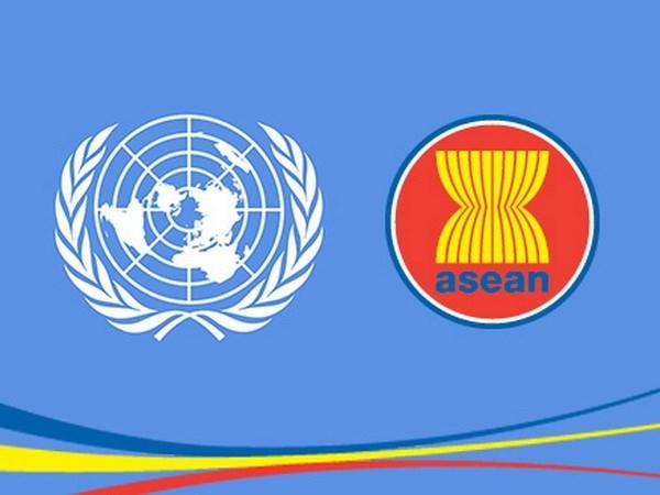 Secretariados de ASEAN y de ONU intensifican colaboracion hinh anh 1