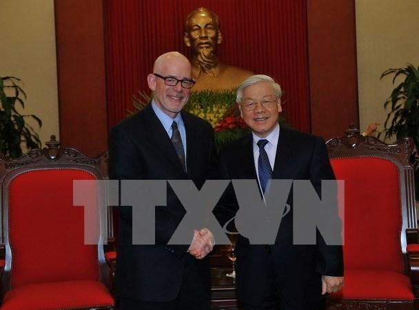 Impulsan Vietnam y Estados Unidos relaciones partidistas hinh anh 1